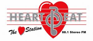 Heartbeat 88FM Logo